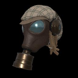 Plaid Fumigator Mask