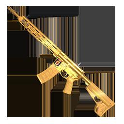 PS7 Showdown Gold AR-15 (SA)