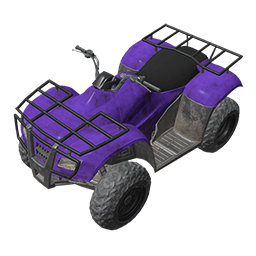 Purple ATV
