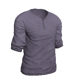 Purple Henley