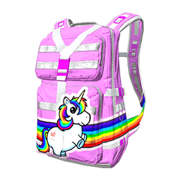 Rainbow Unicorn Military Backpack