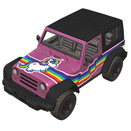 Rainbow Unicorn Offroader