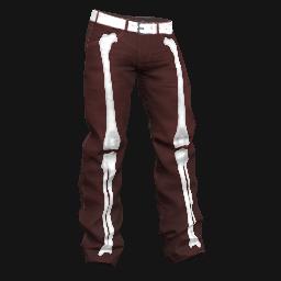 Red Bone Baggy Pants
