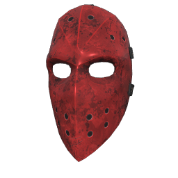 Red Hockey Mask