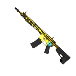 Showdown Gold AR-15