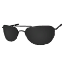 Silver Metal Frame Sunglasses