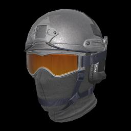 Silver Soldier Helmet