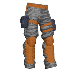 Silver Soldier Padded Pants