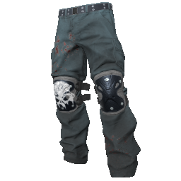 Skull Padded Pants