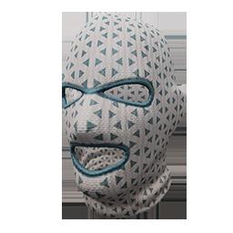 Snowy Ski Mask