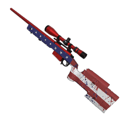 Patriotic Sniper Rifle