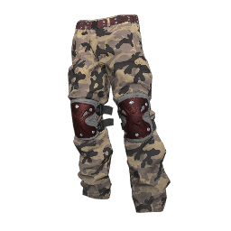 Tan Camo Padded Pants