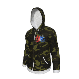 Twin Galaxies Hoodie (Camo)