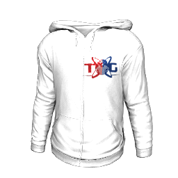 Twin Galaxies Hoodie (White)