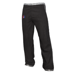Twin Galaxies Warmup Pants (Black)