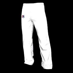 Twin Galaxies Warmup Pants (White)