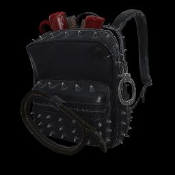 Vixen Black Military Backpack