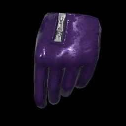 Vixen Purple Gloves