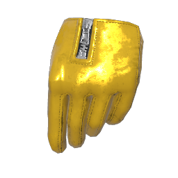 Vixen Yellow Gloves