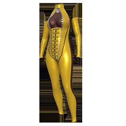Vixen Yellow Suit