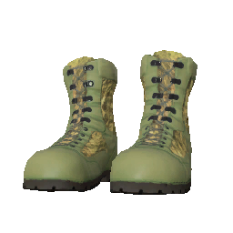 Woodland Ghillie Suit Boots