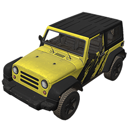 Yellow Graphic Offroader