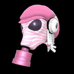 Zebra Fumigator Mask