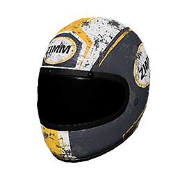 Zimms Yellow Racing Helmet