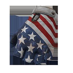 Skin: All American Fingerless Gloves
