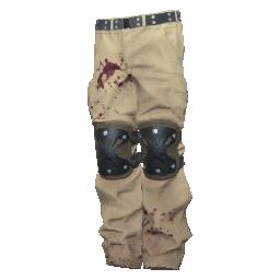 Skin: Beige Padded Pants