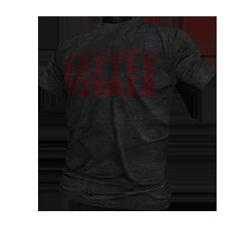 Skin: Black Battle Royale T-Shirt