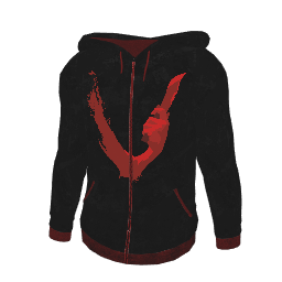 Black Just Survive Hoodie