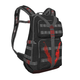 Black Just Survive Military Backpack