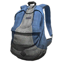 Blue and Grey Backpack