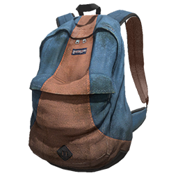 Skin: Blue and Orange Backpack