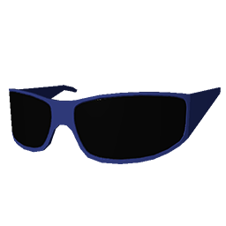 Skin: Blue Biker Shades