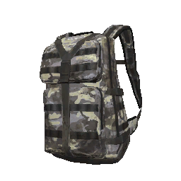 Blue Camo Military Backpack