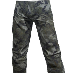 Skin: Blue Camo Pants