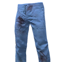 Blue Scrub Slacks