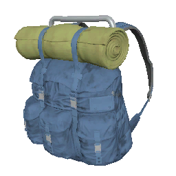 Skin: Blue Survivor Backpack