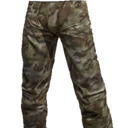Skin: Brown Camo Pants