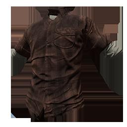 Skin: Brown Flannel Shirt