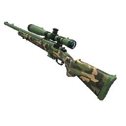 Skin: Camo Green Hunting Rifle
