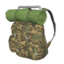 Skin: Camo Survivor Backpack