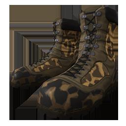 Skin: Cheetah Camo Boots