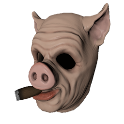 Skin: Cigar Hog Mask