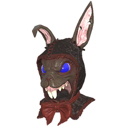 Skin: Dark Rabbit Mask