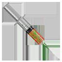 Syringe of H1Z1 Infected Blood