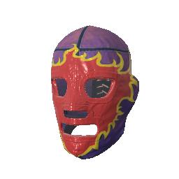 Skin: Fiery Rage Luchador Mask