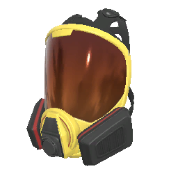 Skin: Firefighter Face Respirator